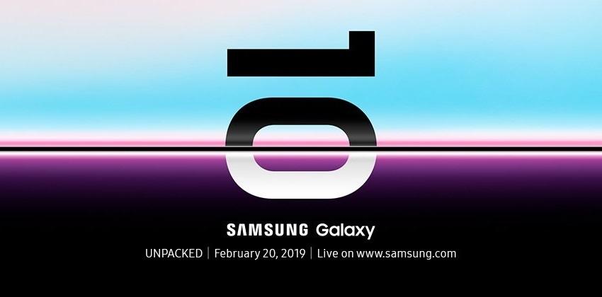 Samsung Galaxy S10, pozvánka