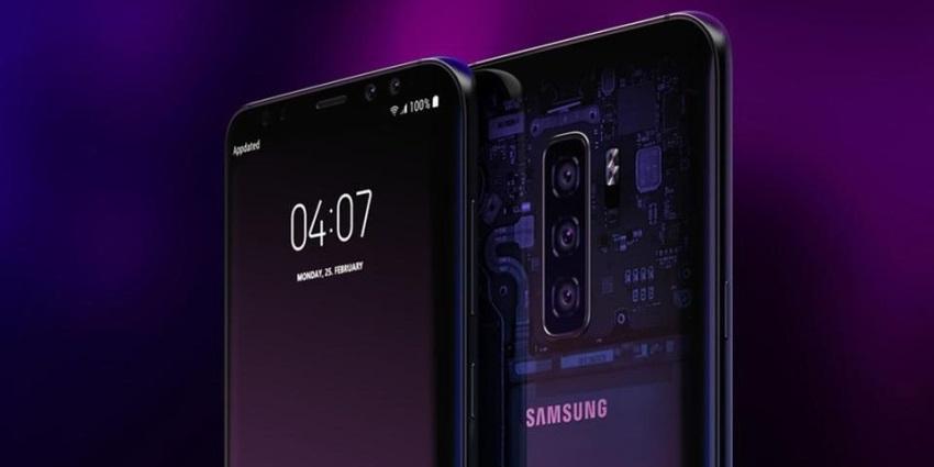 Samsung Galaxy S10 vizualizácia zadnej strany