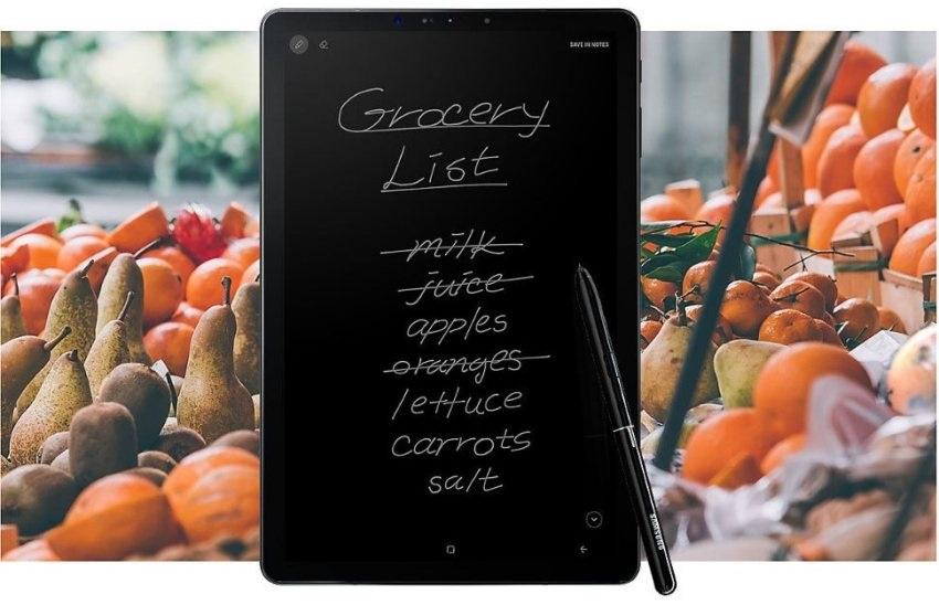 Samsung Galaxy Tab S4 – stylus