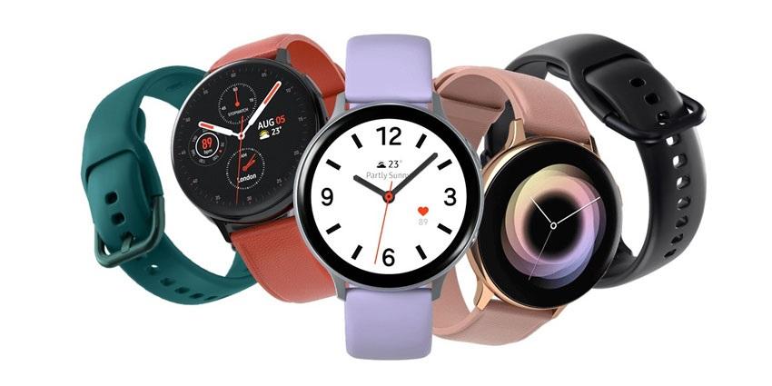 Farebné varianty Galaxy Watch Active2