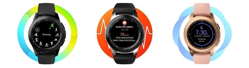 Samsung Galaxy Watch, fitness