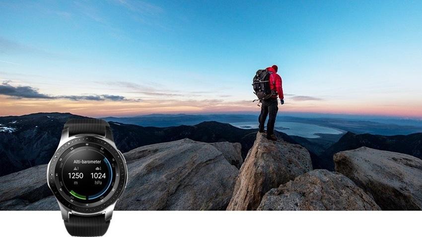 Samsung Galaxy Watch, šport