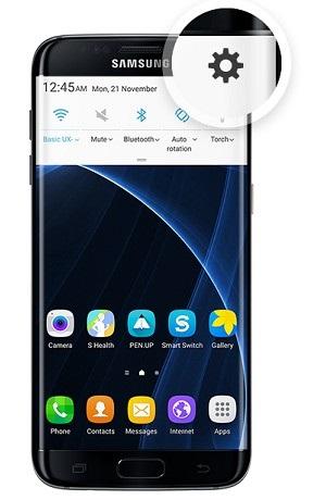 Samsung – nastavenie
