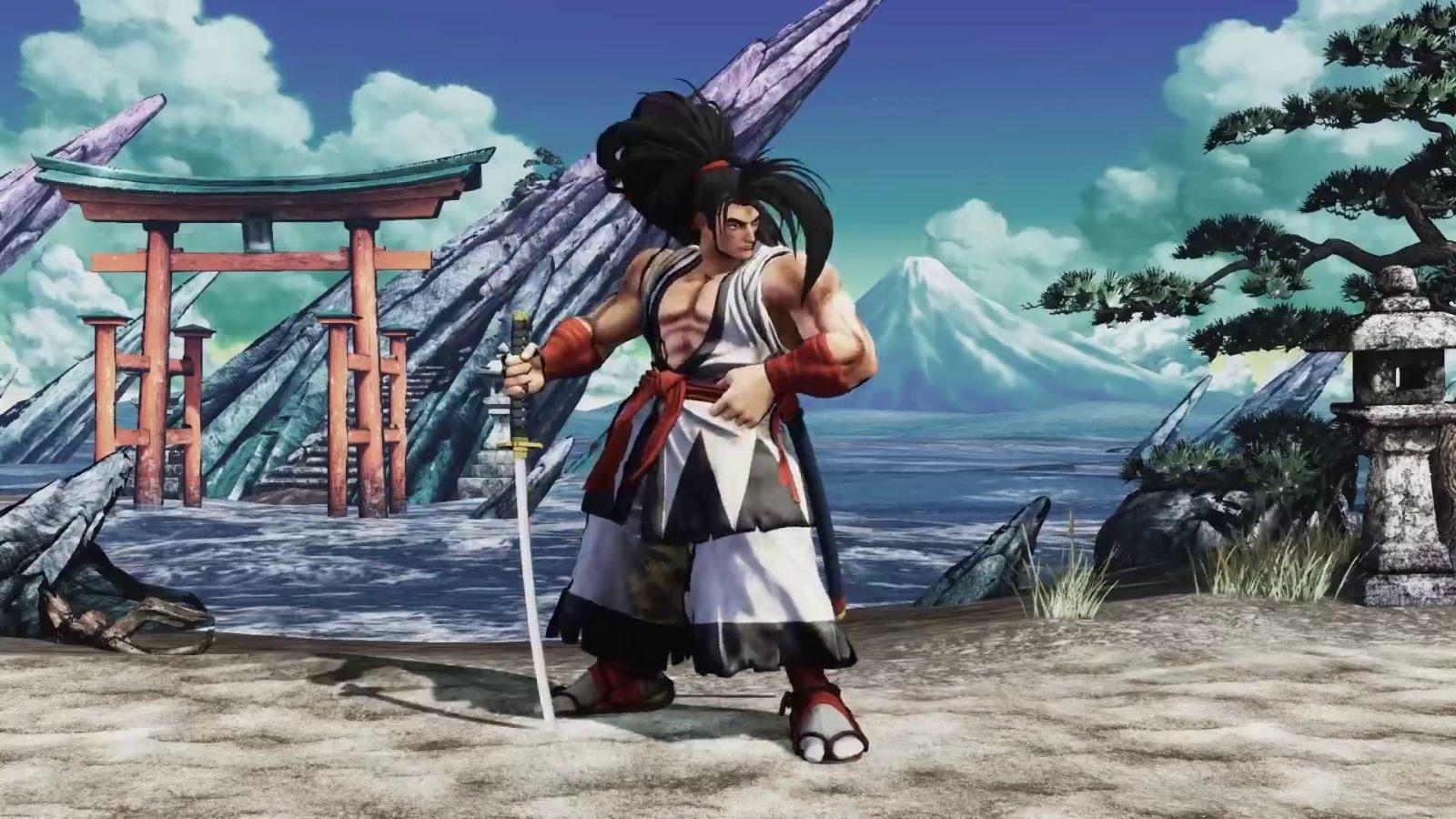 Samurai Shodown; screenshot: fighter