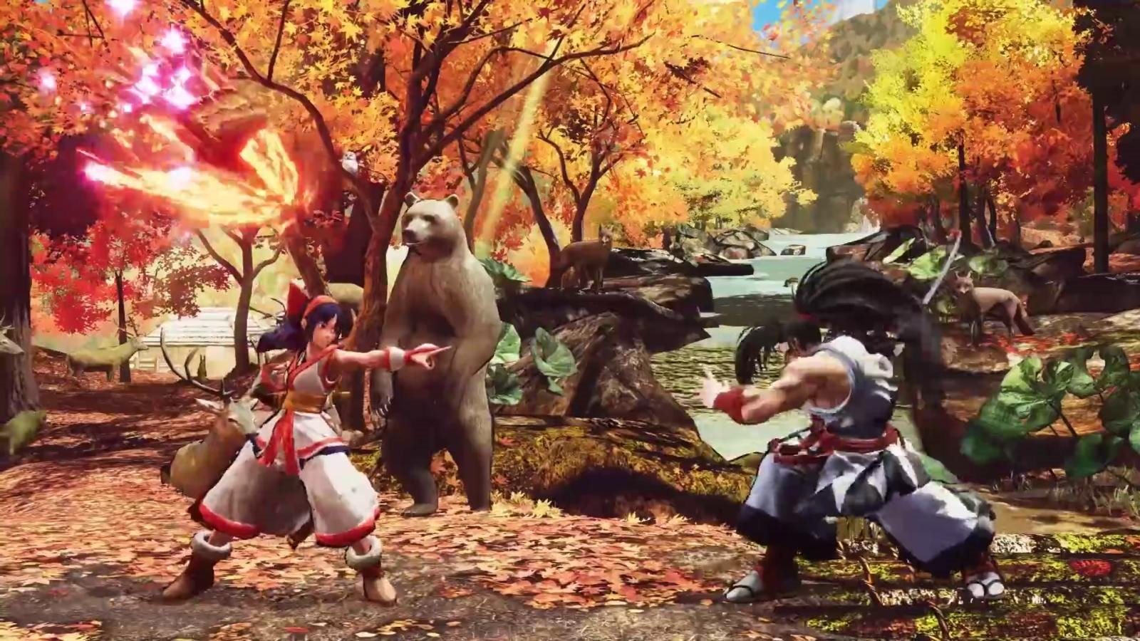 Samurai Shodown; screenshot: pomocník