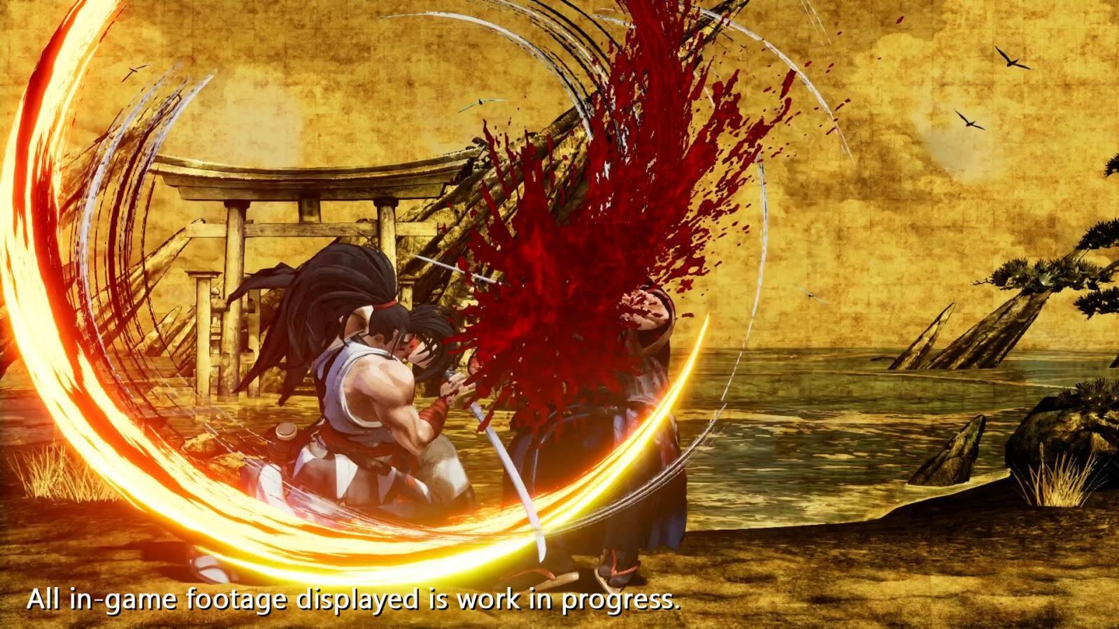 Samurai Shodown; screenshot: špeciál