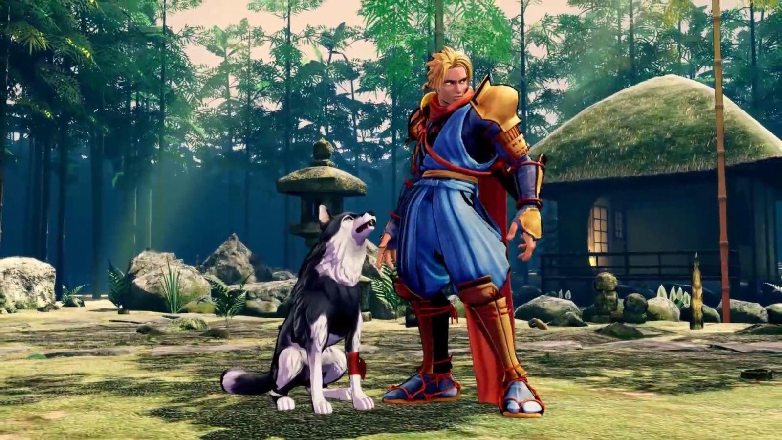 Samurai Shodown; screenshot: zvíře