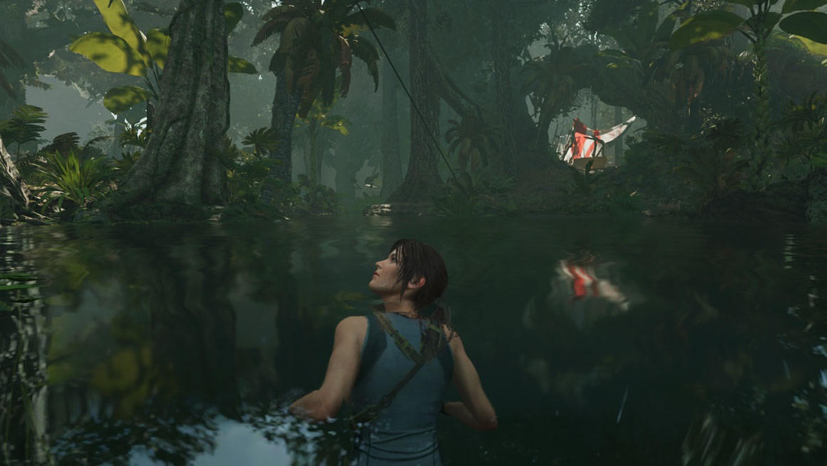 Shadow of the Tomb Raider – Screen Space Reflections