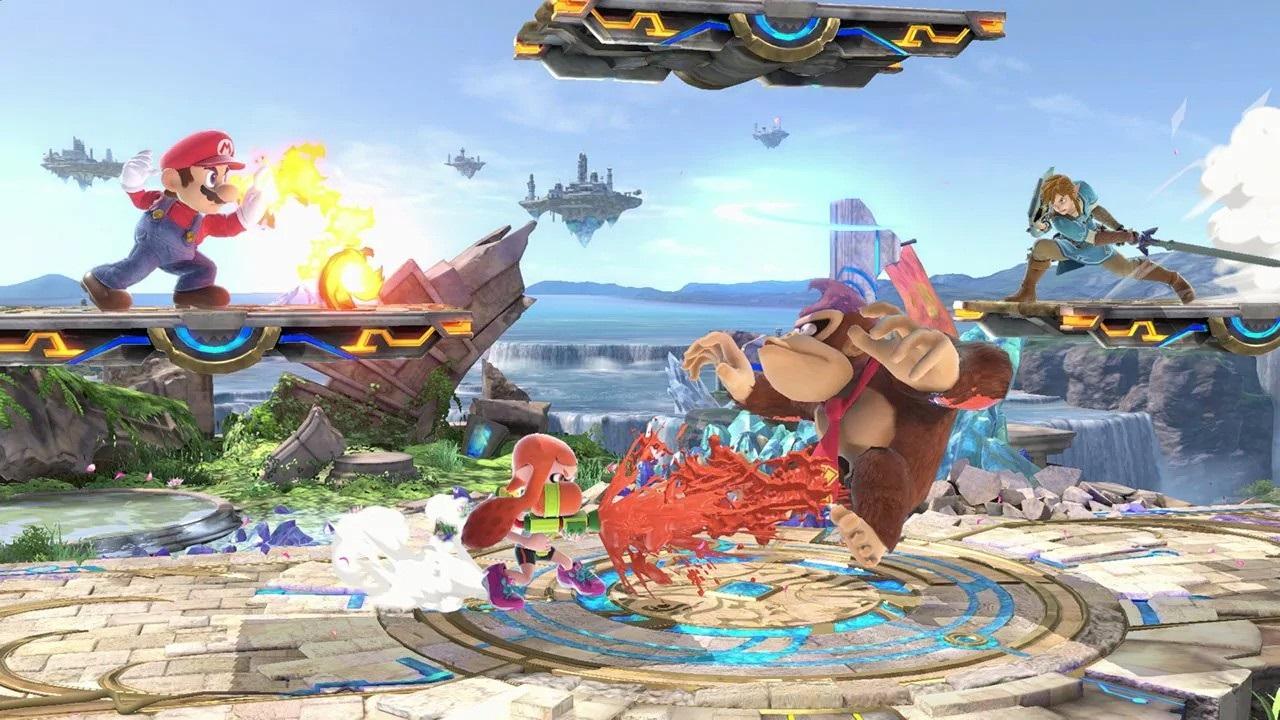 be08f3b21 Ultimate, screenshot: výstavka Najočakávanejšie hry v decembri 2018; Super  Smash Bros. Ultimate, screenshot: Kong Najočakávanejšie ...