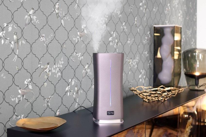 Zvlhčovač vzduchu ako dizajnový doplnok