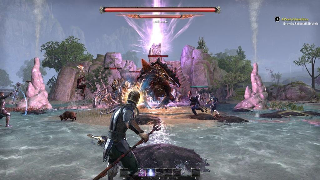 The Elder Scrolls Online: Summerset; gameplay: bitva