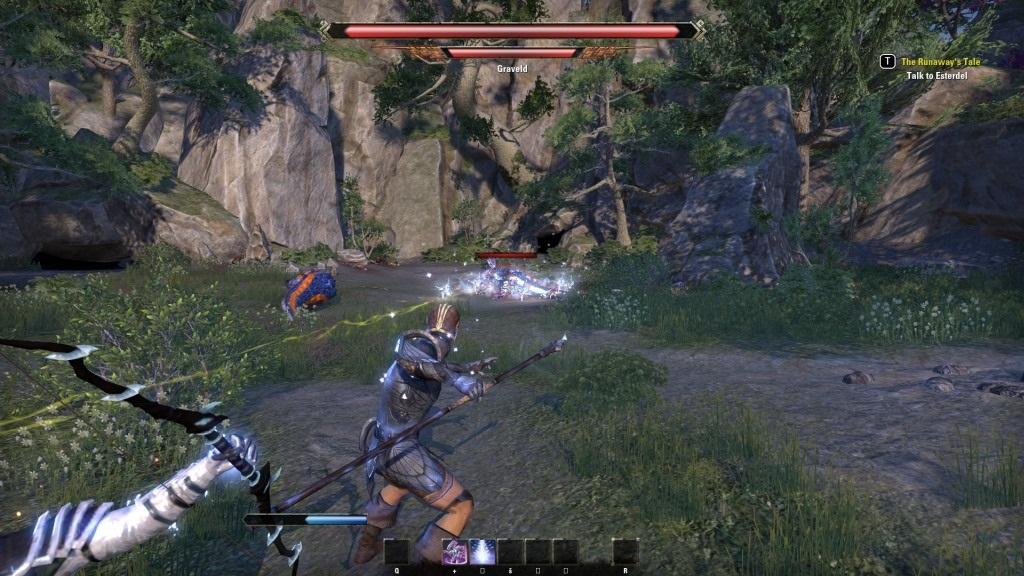 The Elder Scrolls Online: Summerset; gameplay: gravel