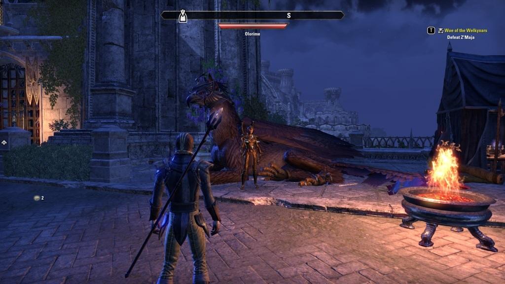 The Elder Scrolls Online: Summerset; gameplay: gryf
