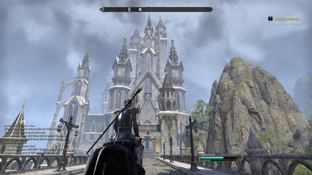 The Elder Scrolls Online: Summerset; gameplay: hrad
