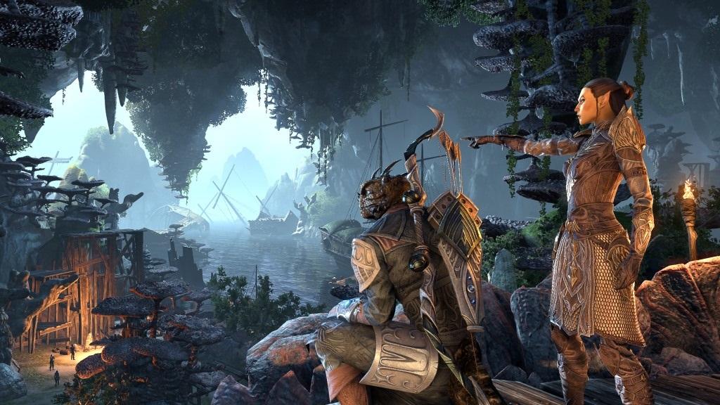 The Elder Scrolls Online: Summerset; wallpaper: jaskyňa