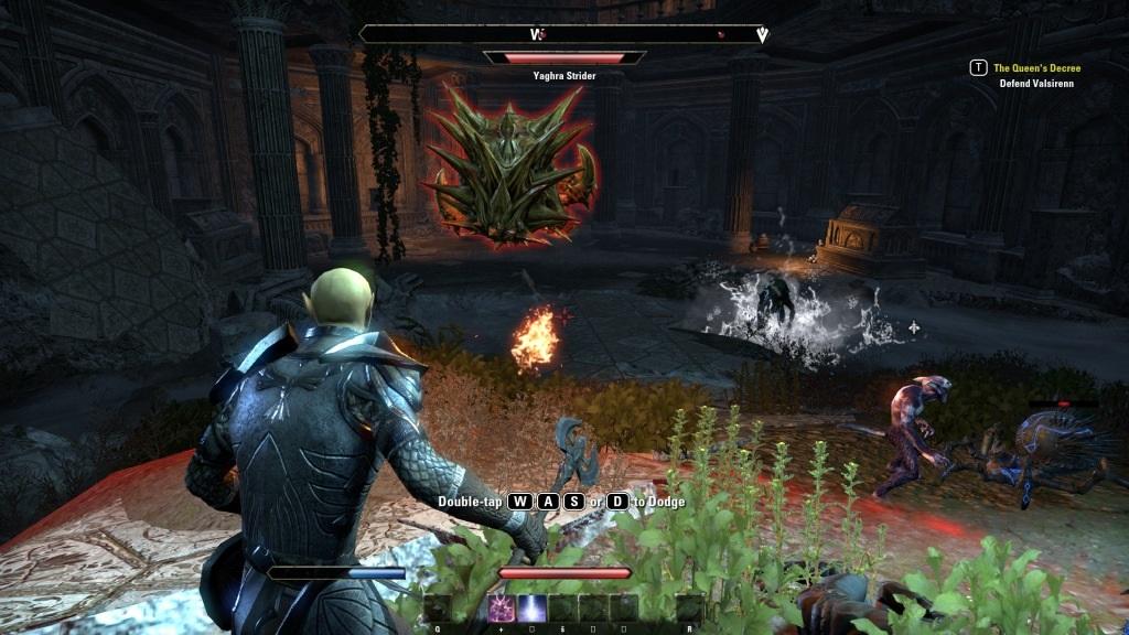 The Elder Scrolls Online: Summerset; gameplay: jaskyňa