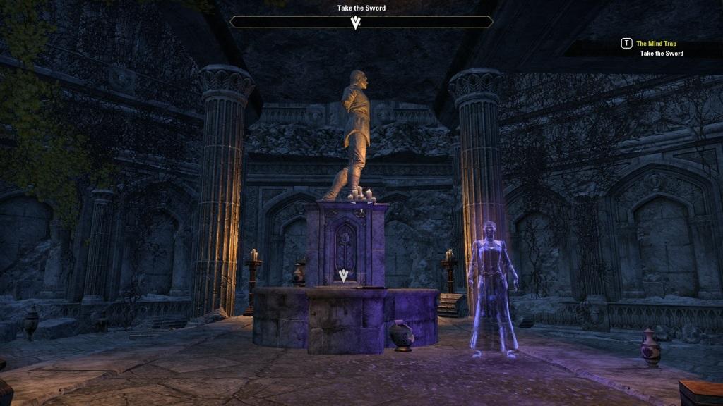 The Elder Scrolls Online: Summerset; gameplay: ruiny