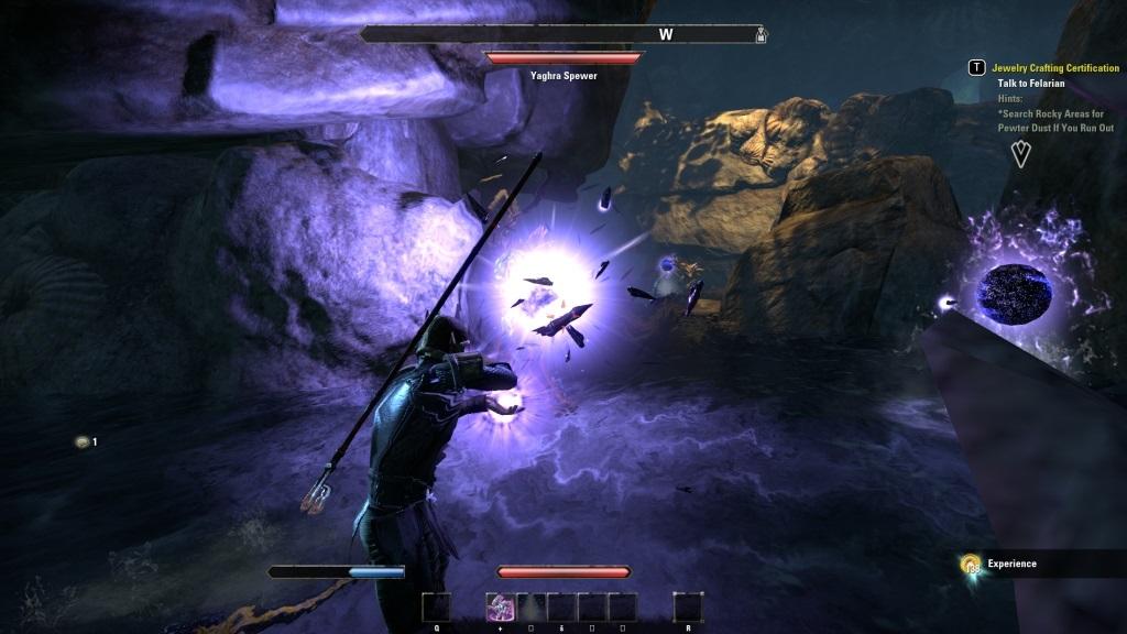The Elder Scrolls Online: Summerset; gameplay: súboj