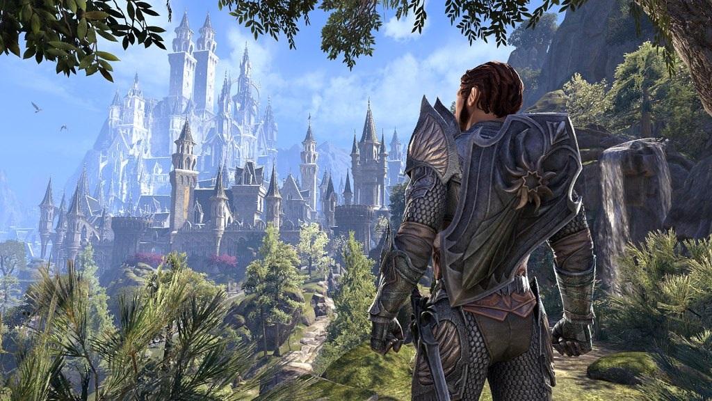 The Elder Scrolls Online: Summerset; wallpaper: mesto, hrad