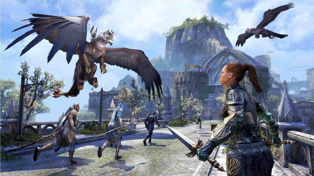 The Elder Scrolls Online: Summerset; wallpaper: mobilizácia