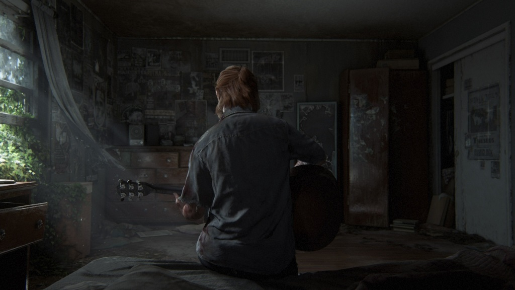 The Last of Us Part II; Wallpaper: Ellie, dom