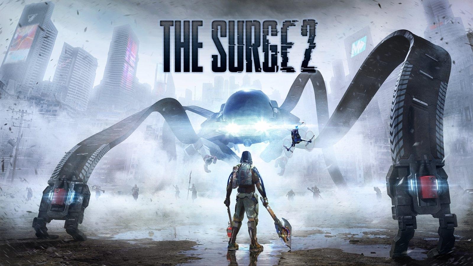 The Surge 2; wallpaper: monstrum