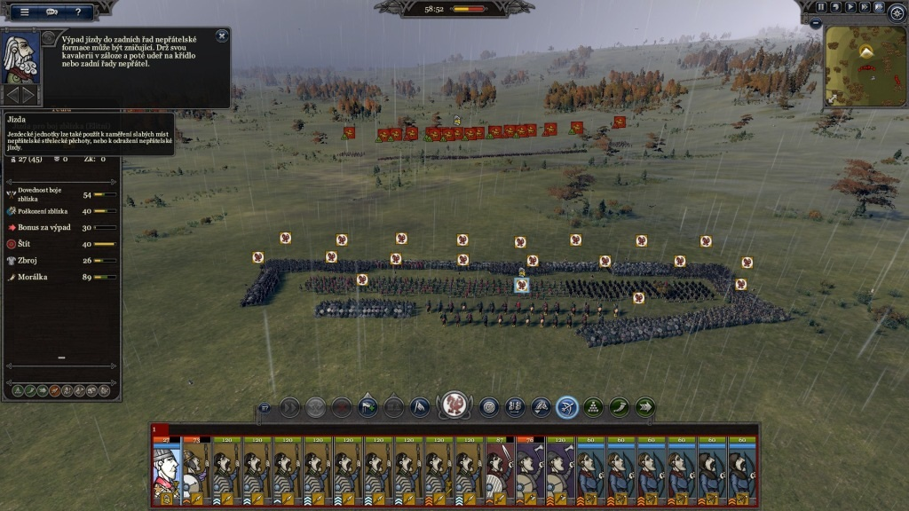 Total War Saga: Thrones of Britannia; Gameplay: vojnová formácia