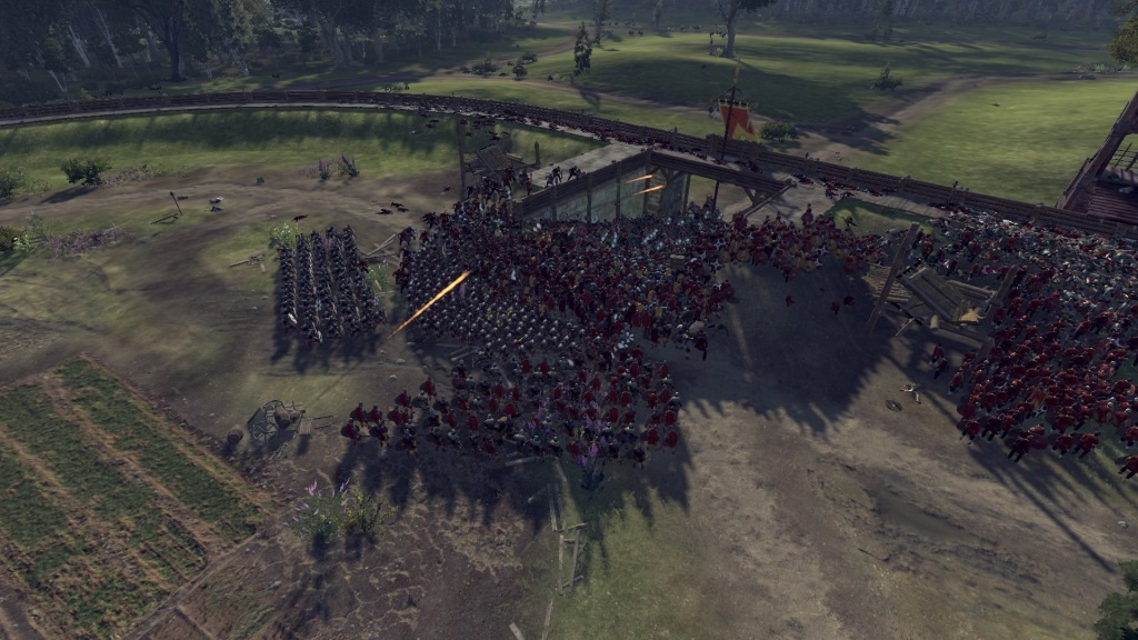 Total War Saga: Thrones of Britannia; Gameplay: boj o bránu
