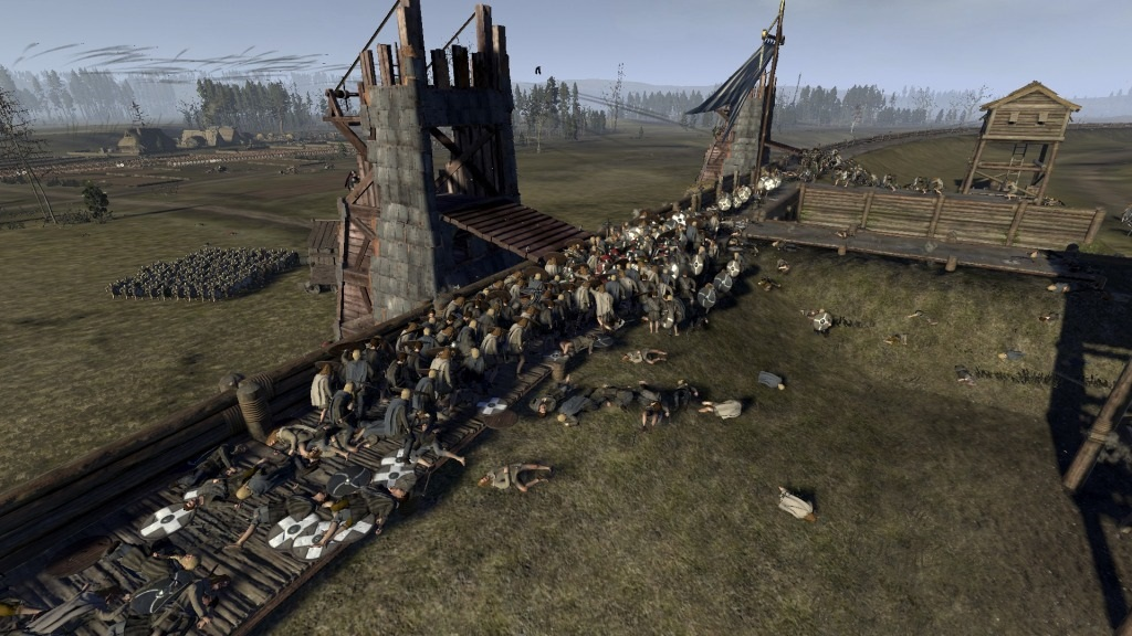 Total War Saga: Thrones of Britannia; Gameplay: boj o hradby