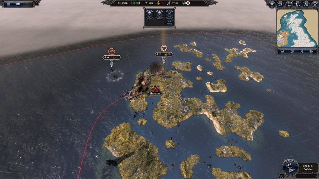 Total War Saga: Thrones of Britannia; Gameplay: obliehanie