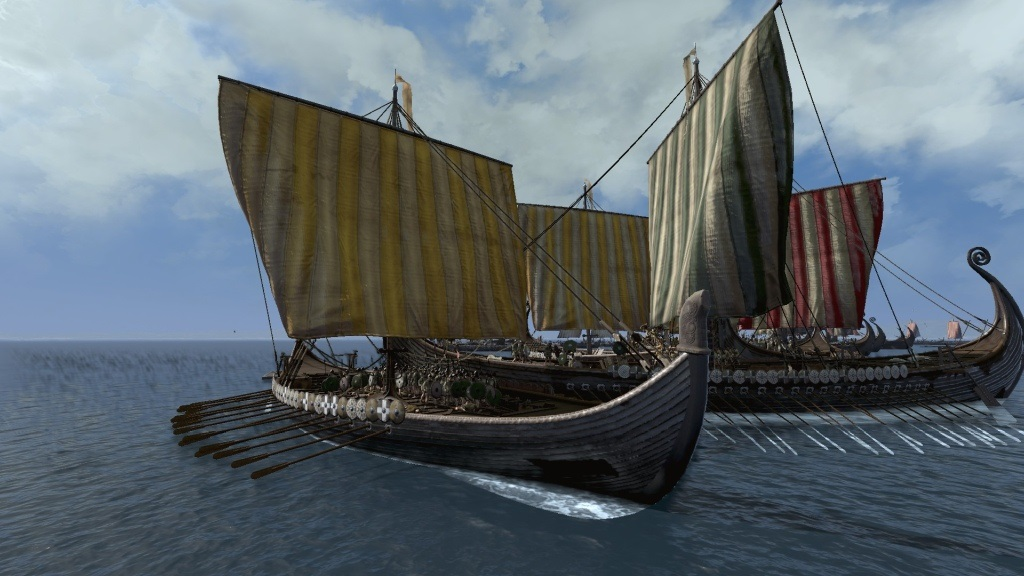 Total War Saga: Thrones of Britannia; Gameplay: sttet lodí