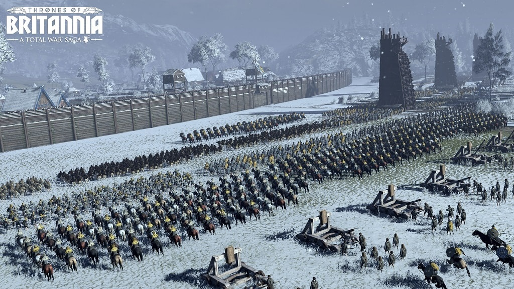 Total War Saga: Thrones of Britannia; obliehanie, Galovia