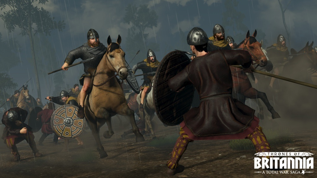 Total War Saga: Thrones of Britannia; Wallpaper: Gaelské jednotky