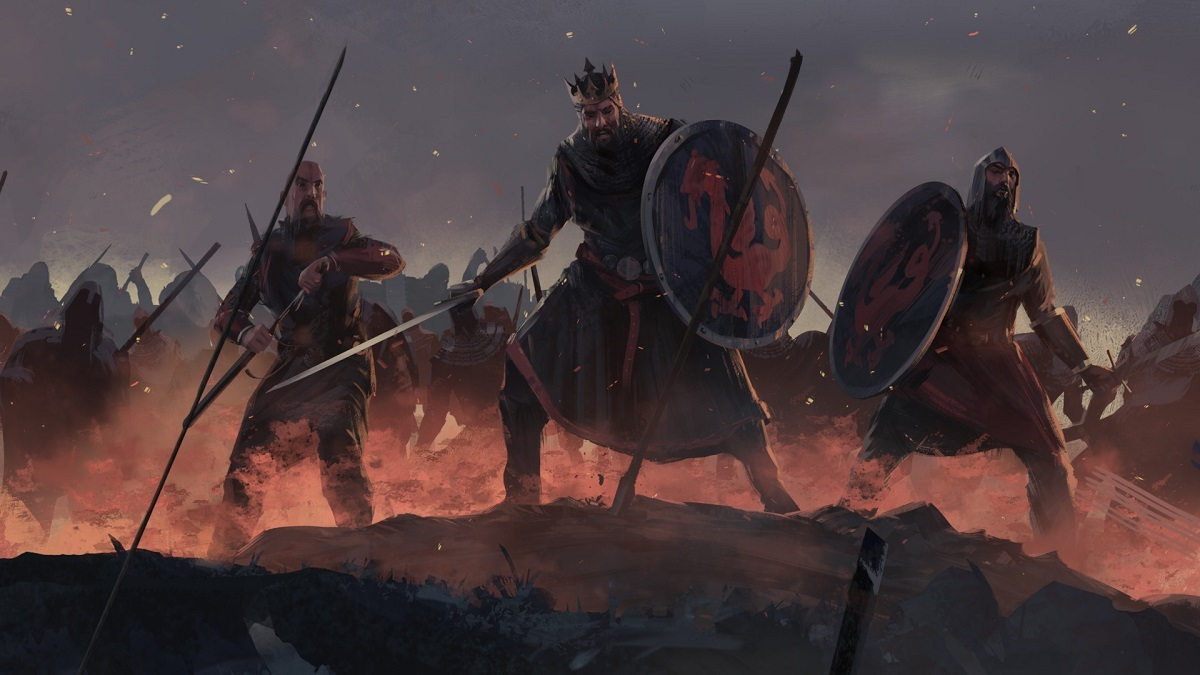 Total War Saga: Thrones of Britannia; king, soldiers