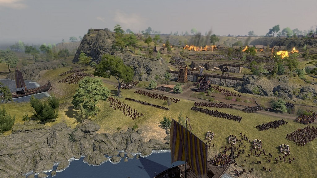Total War Saga: Thrones of Britannia; vylodenie, Northumbria
