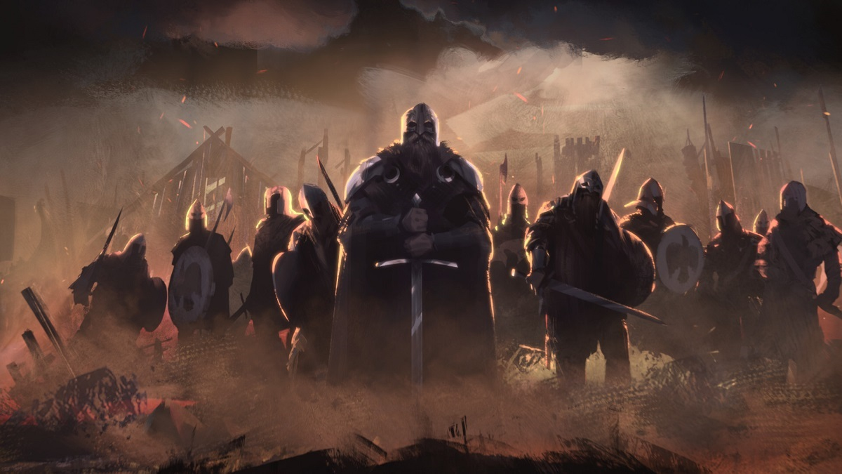 Total War Saga: Thrones of Britannia; vikingovia, grafika, artwork