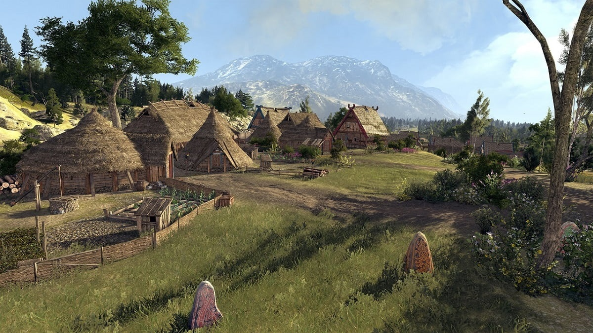 Total War Saga: Thrones of Britannia; dedina