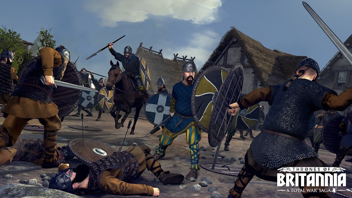 Total War Saga: Thrones of Britannia; Mercia, Anglosasi, bojovníci, jazda