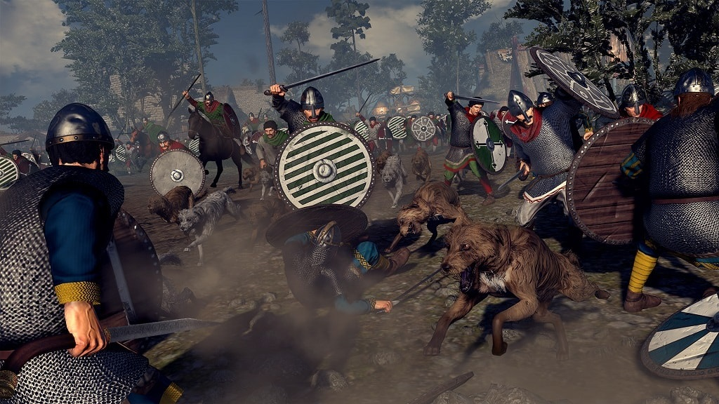 Total War Saga: Thrones of Britannia; Velšania, jednotky