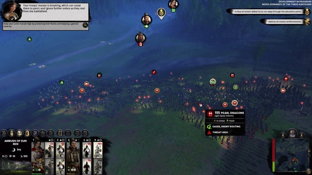 Total War: Three Kingdoms; gameplay: boj
