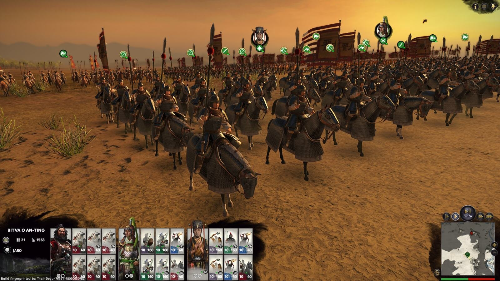 Total War: Three Kingdoms – Eight Princes; gameplay: Katafrakti