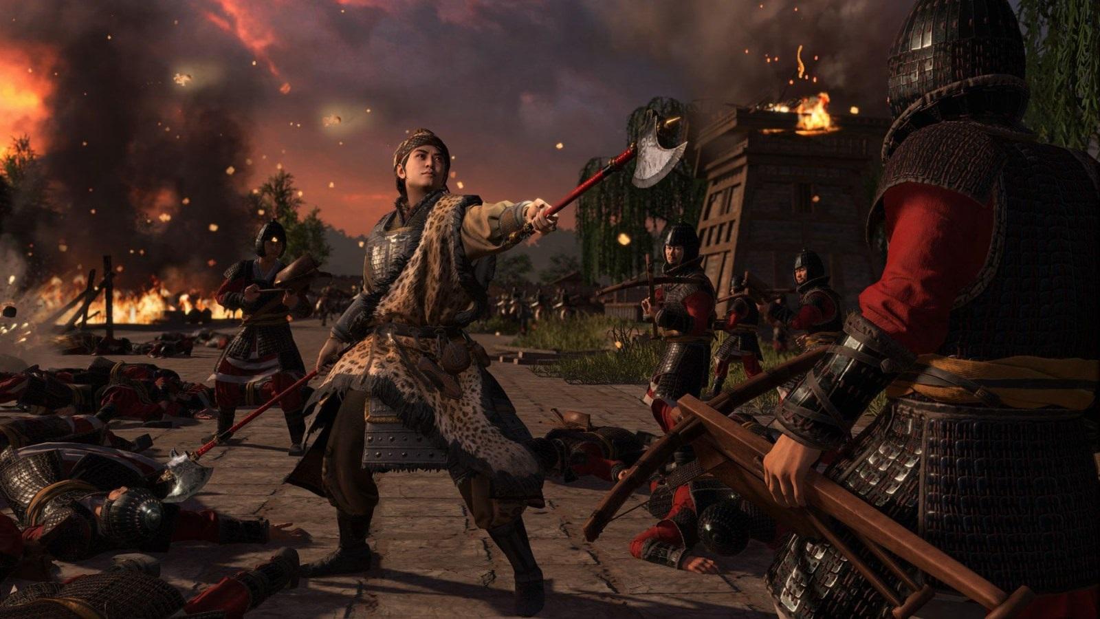 Total War: Three Kingdoms – Eight Princes; wallpaper: veliteľ