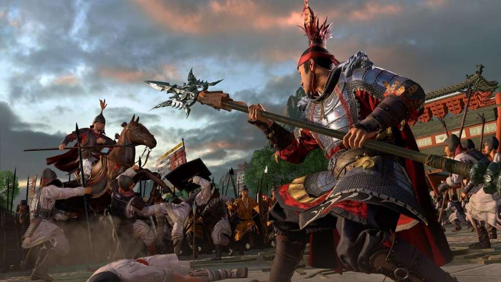 Total War: Three Kingdoms; wallpaper: hrdinovia