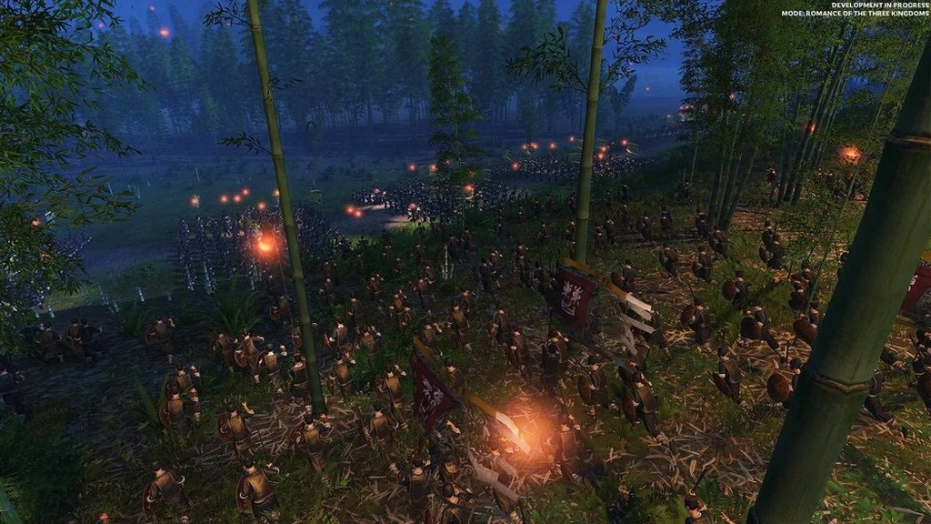 Total War: Three Kingdoms; gameplay: prepadnutie