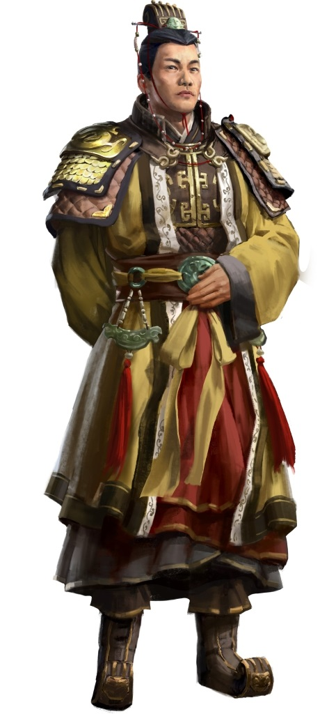 Total War: Three Kingdoms; artwork: Sun Quan