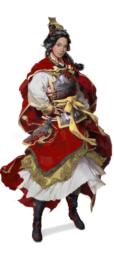 Total War: Three Kingdoms; artwork: Sun Ren