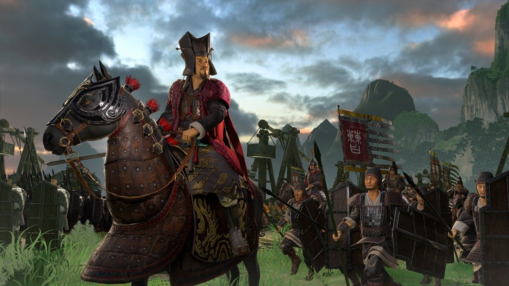 Total War: Three Kingdoms; screenshot: vojvodcovia