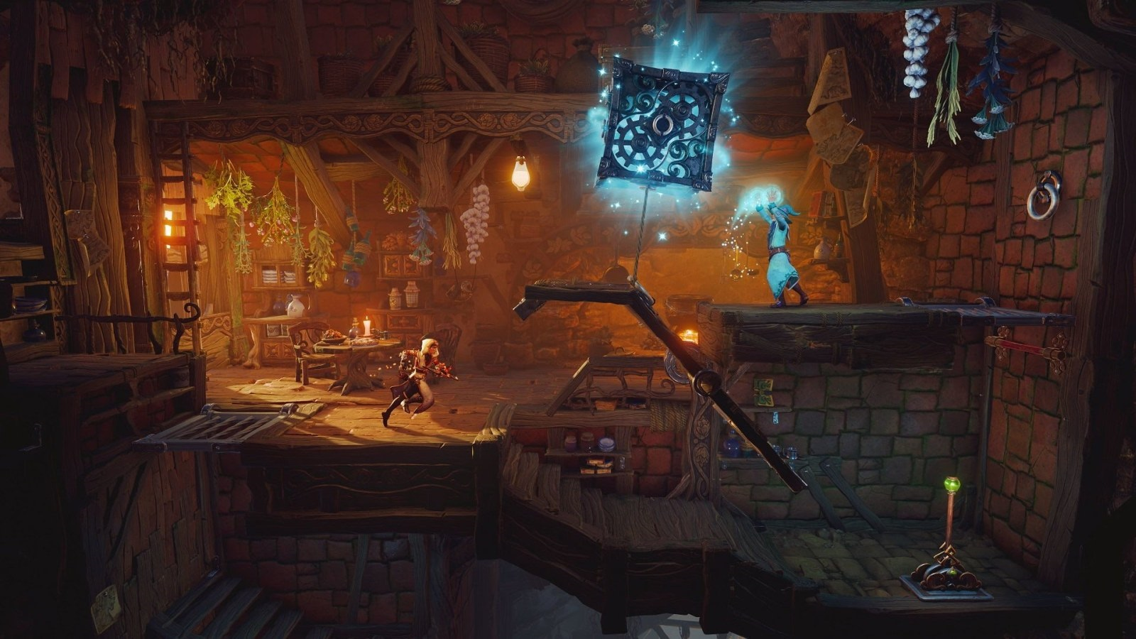 Trine 4: The Nightmare Prince; screenshot: puzzle