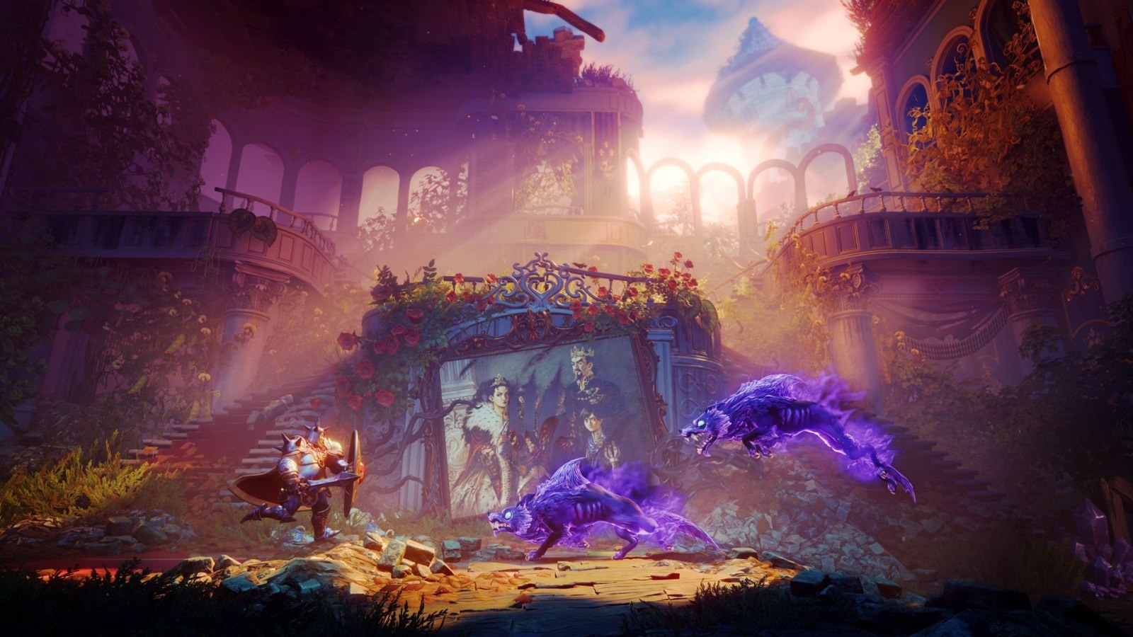Trine 4: The Nightmare Prince; screenshot: souboj