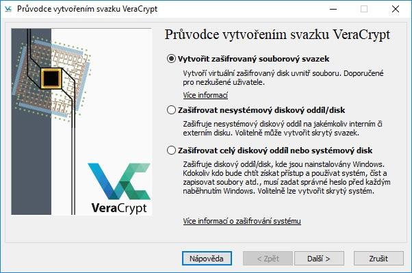 VeraCrypt sprievodca.